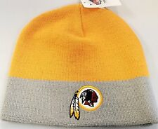 NEW! NFL Washington Redskins Knit Cuffless  Beanie Skull Cap