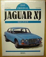 Das Original Jaguar XJ Serie XJ6 XJ12 Serie 1 2 3 S Modelle Restaurierung Buch