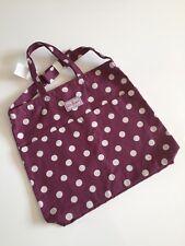 Nueva bolsa Doble Asa de algodón Cath Kidston en punto de botón envío gratuito