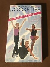 NEW!  THE RADIO CITY ROCKETTES - KICK INTO FITNESS VHS TAPE - NEW & SEALED!