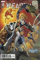 Weapon H Comic 6 Cover B Fantastic Four Variant J Scott Campbell First Print