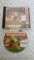 Pc cdrom game Kickoff 98