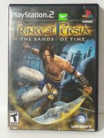 Prince of Persia The Sands of Time (Sony PlayStation 2, 2003) PS2 Complete