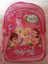 BRAND NEW TINKERBELL GIRLS BACKPACK SCHOOLBAG - LARGE