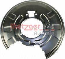 Spritzblech, Bremsscheibe für Bremsanlage Hinterachse METZGER 6115042
