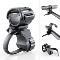 Bicycle Handlebar Light Torch Holder Bicycle Mount Bracket Clamp For Flashlight