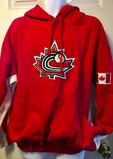 RARE VTG World Baseball Classic Team Canada Majestic Hoodie WBC OverSized