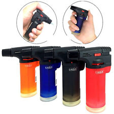 Authentic 4x Eagle Jet Gun Torch Butane Lighter Windproof Refillable 4 Pack