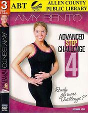 Amy Bento: Advanced Step Challenge, Vol. 4 (DVD, 2011) w/ DJ Rick; step aerobics