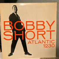 "BOBBY SHORT - Atlantic 1230 - 12"" Vinyl Record LP - VG"