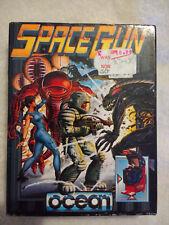 Commodore 64 juego de cassette de pistola de espacio en Caja