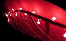 Christmas Wedding Party Boys Girls room night light White Berry Ball 20 Red LED