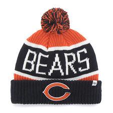 Chicago Bears 47 Brand Knit Hat Calgary Cuff Cap C