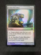 1x Foil Codex Shredder Return to Ravnica MTG Magic Commander