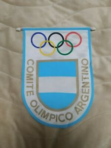 Original Argentina Pennant 1970's - 1980's Argentine Olympic Committee - see RRR