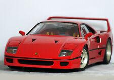 """1:18 HQ Hot Wheels ELITE """"FERRARI F40"""" (Rosso Corsa) RARE #J2925-0510 Mattel HTF"""