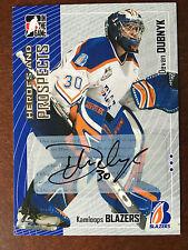 2005-06 ITG Heroes & Prospects DEVAN DUBNYK Autograph Auto Rare Pre-RC Autograph