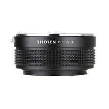 SHOTEN adapter for CANON EF mount lens to Nikon Z mount Z6 Z7 camera