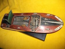 ITO Boat wooden pond twin motor toy TMY power parts vtg chris craft unrestored.
