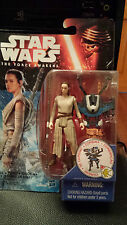 Star Wars Force Awakens TFA Rey Ray Starkiller base 3.75 figure