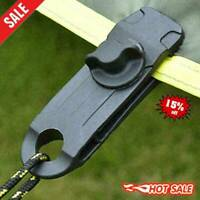 10x Reusable Tent Tarp Tarpaulin Clip Clamp Buckle Duty-New Heavy Camping O6T7