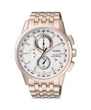 Quarz - (solarbetriebene) Armbanduhren im Luxus-Stil mit Datumsanzeige