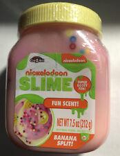 ULTRA RARE: Nickelodeon BANANA Slime - NEW