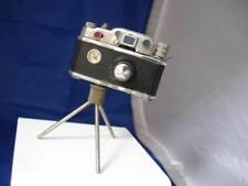 Encendedor cámara de fotos. K.K.W. Años 50. Japón. Metal. Miniatura. Gasolina