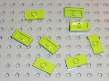 8 x LEGO lime Plate ref 3794 / Set 7065 41038 7052 7051 8188 70128 40106 41016..