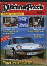 Oldtimer Praxis 7/97 Spatz 200 Sunbeam 600 Mazda Cosmo 110 Yamaha RD Ducati V2