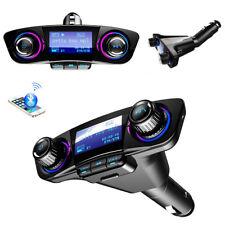 12V Wireless Bluetooth FM Transmitter Aux Car Handsfree Car Kit MP3 Player w/USB