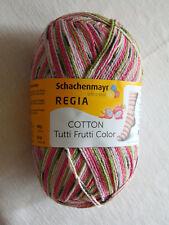 100g Regia Cotton Color Fb.2419 Drachenfrucht 4fach- Sockenwolle Bwschachenmayr
