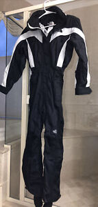 NWOT The North Face One Piece Snowsuit Women's Size 4 Black/Gray