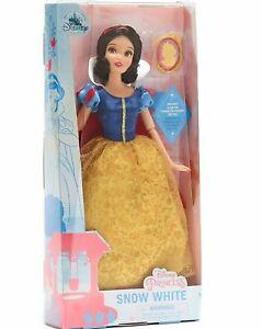 Disney Princess Snow White Classic Doll 28cm H with Pendant New Kids Toy