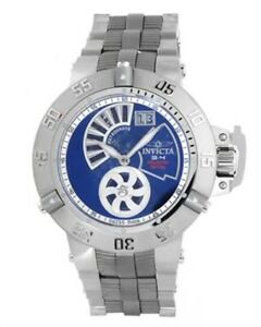 Invicta Swiss Made Subaqua Noma III Retrograde Blue Lapis Watch 6696  #/500