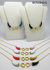 Fashion jewelry Women 18k Gold Plated necklace Top Quality Aaaaa+