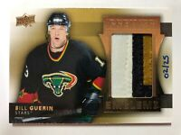 2014-15 UD Premier Emblems 3 Color Bill Guerin /25