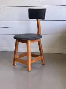 Mid Century Childs Art Stool Chair