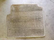 94-97 OEM USDM Honda Accord EX left rear carpet / floor mat in light tan / beige