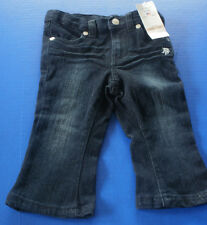 U.S. POLO~Dark BLUE JEAN DENIM PANTS~12 months~NWT