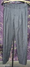 NWT Lacoste Club Collection Grey Tweed Cotton Pants Misses Size 42 (10)