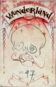 Michael Hussar Baby Tattooville original drawing sketch