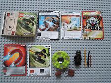 LEGO Ninjago  2112 Cole + Anleitung  +  5 Original Trading Cards Spielkarten TOP