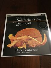 Tchaikovsky Nutcracker Peer Gynt Karajan Sealed New Record Classical 180g