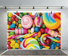 Children'S Color Love Candy Photography Backdrop Background Studio Photo Props