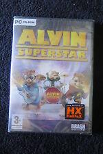 PC : ALVIN SUPERSTAR - Nuovo, sigillato, ITA ! Entra in scena con i Chipmunk !