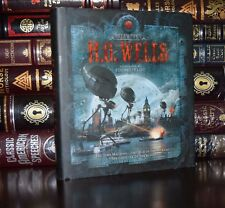 Time Machine War of the Worlds Blind by H.G. Wells Illustrated New Hardcover