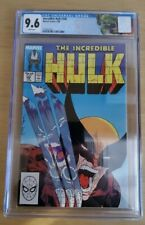 The Incredible Hulk #340 - CGC 9.6 - Wolverine - McFarlane Custom CGC Label!