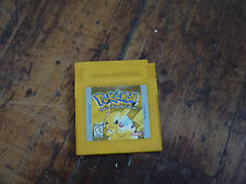 Pokemon: Yellow Version - Special Pikachu Edition New Battery