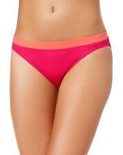 Lauren Ralph Lauren Womens Beach Club Banded-Waist Bikini Bottom 14 Pink
